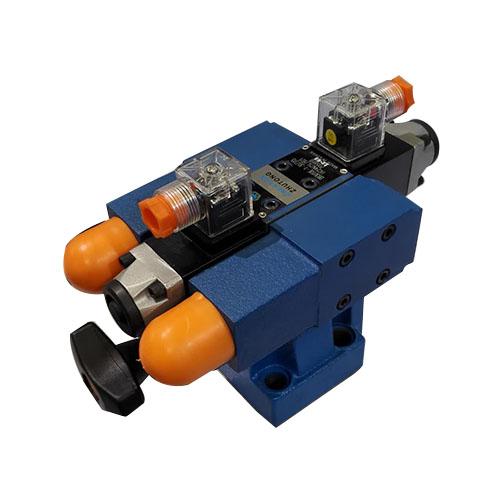多极电液先导式流溢阀