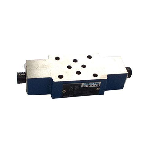 Z2SF型叠加式双单向节流阀