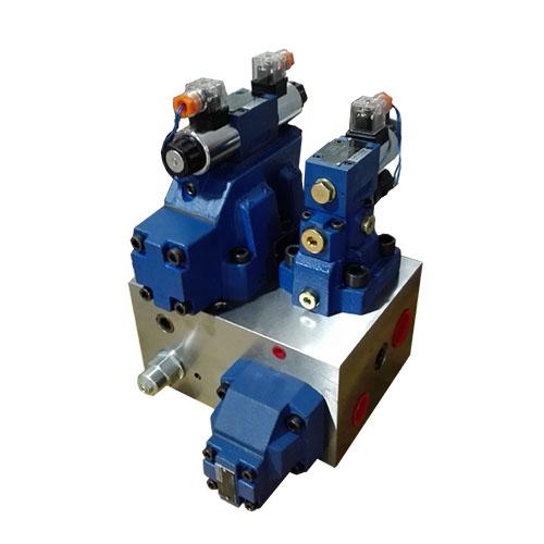 高速剪板机控制阀组